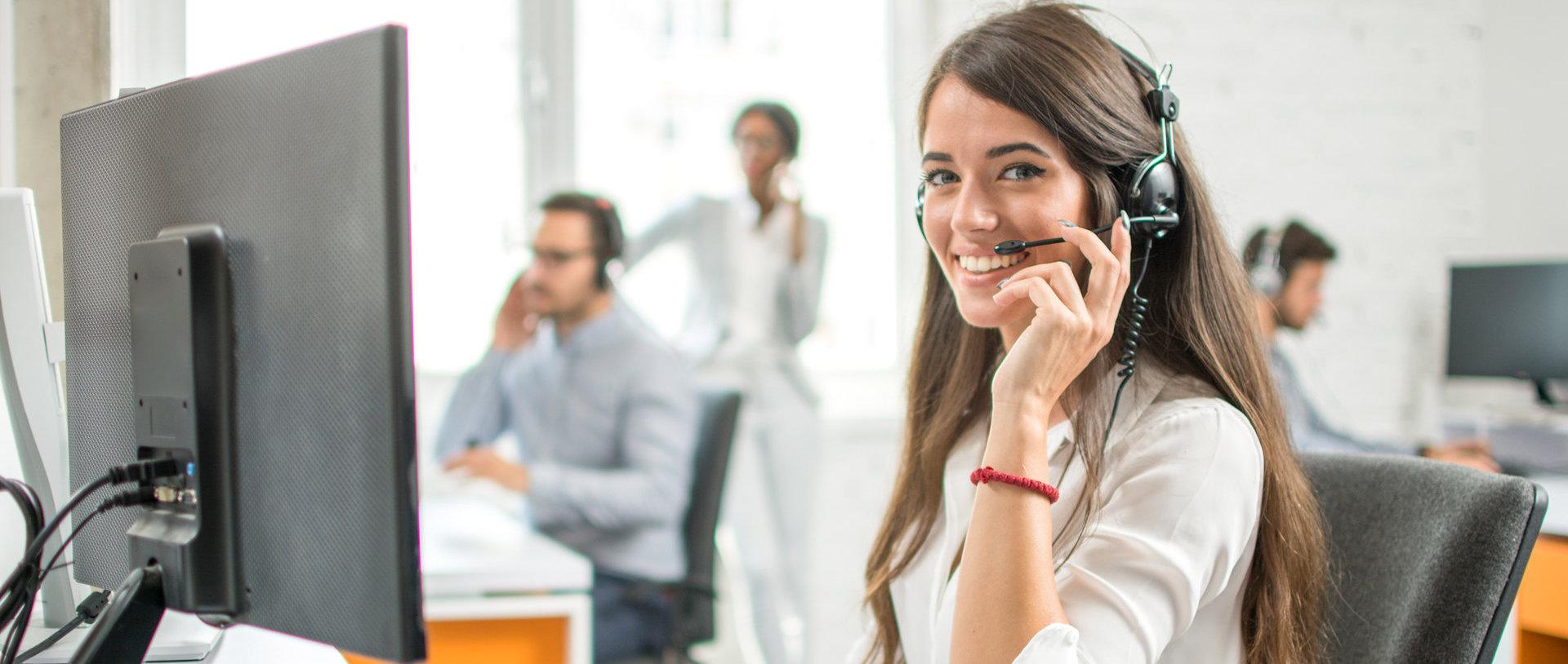 girl taking calls